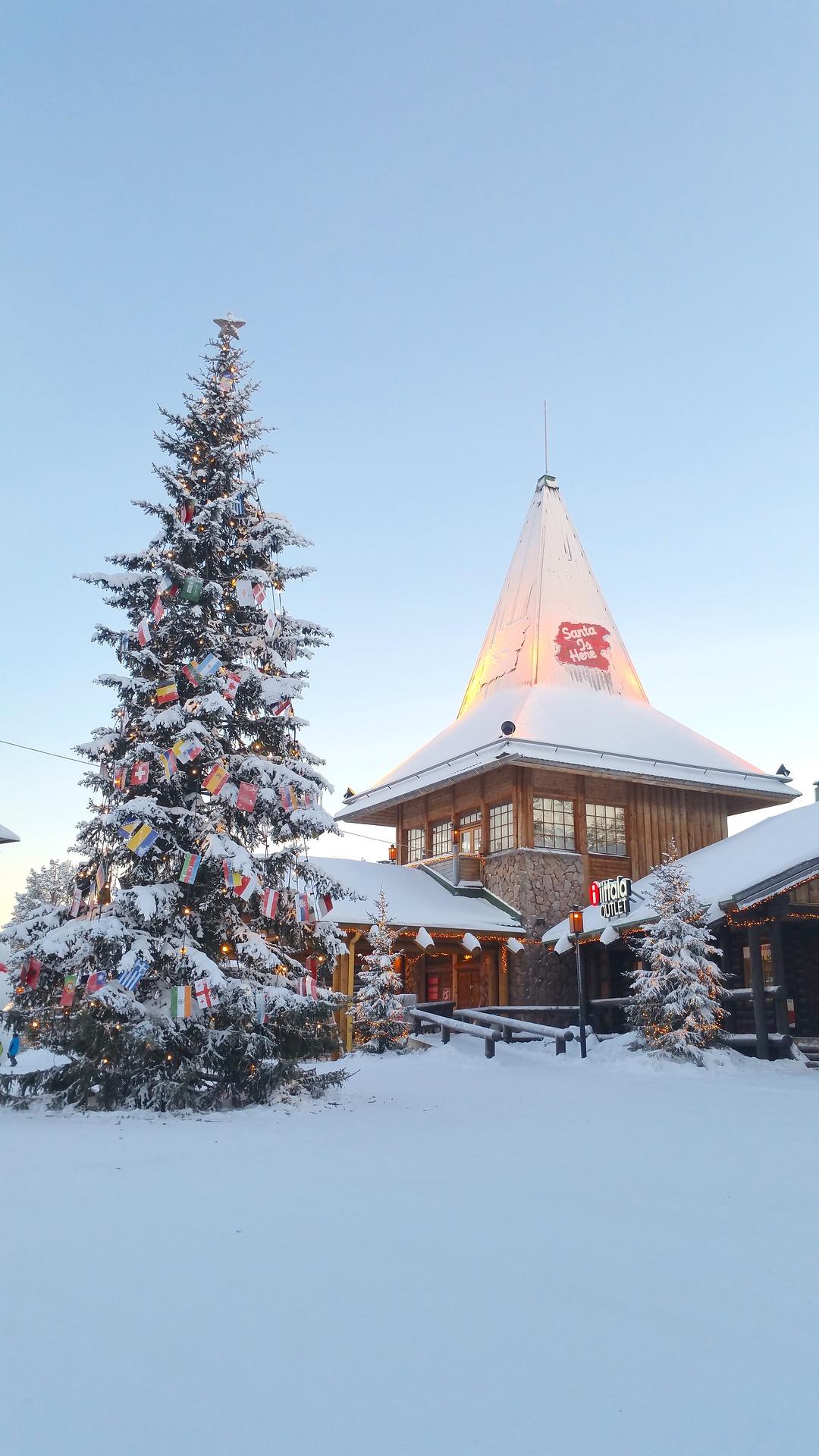 Rovaniemi Lapponia Babbo Natale.Rovaniemi Il Magico Mondo Di Babbo Natale